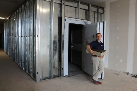 Local entrepreneur banks on private vault service